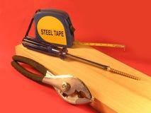 DIY, ferramentas para a melhoria home Foto de Stock Royalty Free