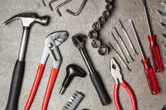 DIY-hjälpmedeluppsättning Arkivfoto