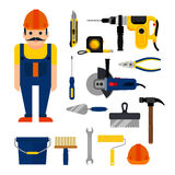 DIY home repairs power Royalty Free Stock Image