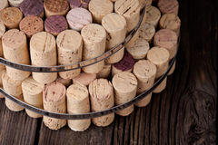 Diy homemade cork protector from hot pots Royalty Free Stock Photos