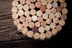 Diy homemade cork protector from hot pots Royalty Free Stock Photography