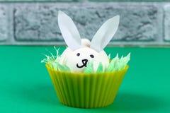 Diy-Kaninchen von den Eiern für Ostern stockbild