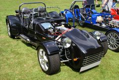 DIY Kit cars in a car show. component car Royalty Free Stock Photography