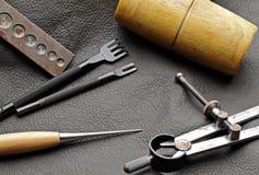 DIY leathercraft tool Stock Image