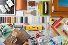 DIY och hem- renovering Fotografering för Bildbyråer