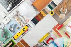 DIY och hem- renovering royaltyfria bilder