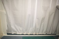 DIY Shower Anti Splash Wall Strip With Anti Curtain Cling Rod An. I was tired of trying all the current anti splash products that just don't work, so I Royalty Free Stock Images