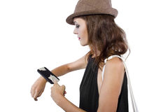 DIY Smart Watch Stock Photo