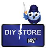 DIY Store Sign Royalty Free Stock Image