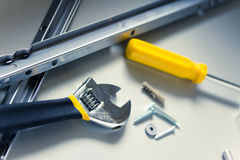 Diy tools and equipment Royalty Free Stock Photography