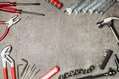 DIY Tools set stock image