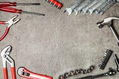 DIY Tools set stock photos