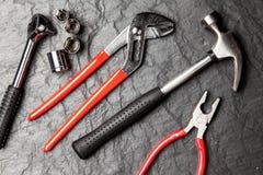 DIY Tools set stock images