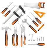 DIY Tools Set Royalty Free Stock Image