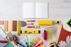 DIY training manual Stock Images