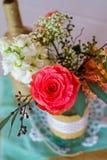 DIY Wedding Decoration Detail Royalty Free Stock Photography