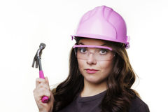 DIY woman royalty free stock photography