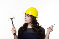 DIY woman Stock Photography
