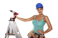 DIY woman. Stock Image