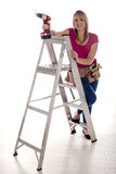 DIY woman. Royalty Free Stock Photos
