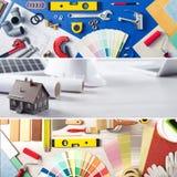 DIY y mejoras para el hogar imagen de archivo libre de regalías