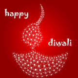 Diya de Diwali Fotografia de Stock