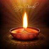 Diya del festival de Diwali Fotografía de archivo libre de regalías