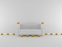 diya do diwali 3d na sala, conceito do festival Foto de Stock Royalty Free