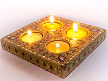 Diya lamps used in Diwali celebrations Royalty Free Stock Photography
