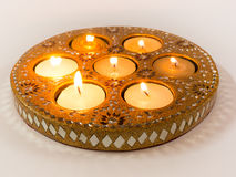 Diya lamps used in Diwali celebrations Royalty Free Stock Photos