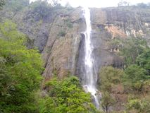 Diyaluma Falls royalty free stock images
