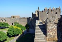Diyarbakir's city walls Stock Photos