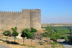 Diyarbakir's city walls Stock Images