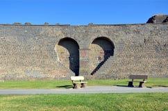 Diyarbakir's city walls Stock Photo