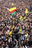 Newroz a Diyarbakir, Turchia. Fotografie Stock