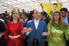 Newroz in Diyarbakir,Turkey. Royalty Free Stock Photo
