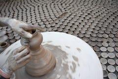 Diyas slaagt er niet in om het pottenbakkers` leven omhoog aan te steken Royalty-vrije Stock Afbeeldingen