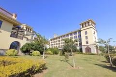 Diyuan Victoria mit fünf Sternen Hotel Xiamens, luftgetrockneter Ziegelstein rgb Stockfoto