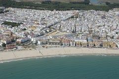 Diz Barbate Spagna del ¡ di CÃ fotografie stock