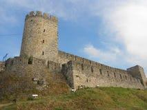 Dizdar塔,贝尔格莱德堡垒 库存图片