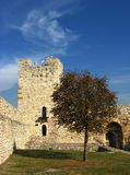 Dizdar's Tower. Built in 1404 - 1427, Belgrade. It is the best preserved part of the fortification from that period. For centuries it served as the main gate Stock Images