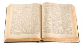 Dizionario inglese-russo Immagine Stock