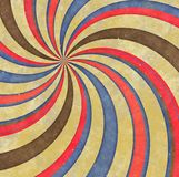 Dizzy Hippy Spinning Pattern Images libres de droits