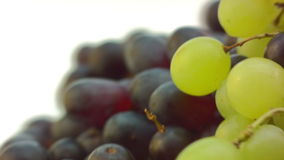 Dizzy spinning Grapes, pan from right stock footage