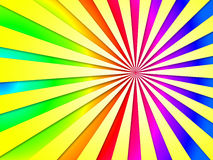 Dizzy Striped Tunnel Background Shows coloré Dizzy Illustrati Photos stock