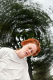 Dizzy woman Royalty Free Stock Photo