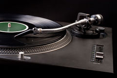 Dj's turntable Stock Photography