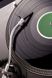 Dj's turntable Royalty Free Stock Image