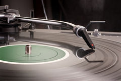 Dj's turntable Royalty Free Stock Images