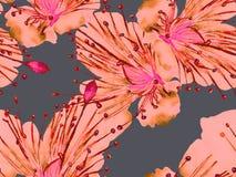 Djärv blom- design vektor illustrationer